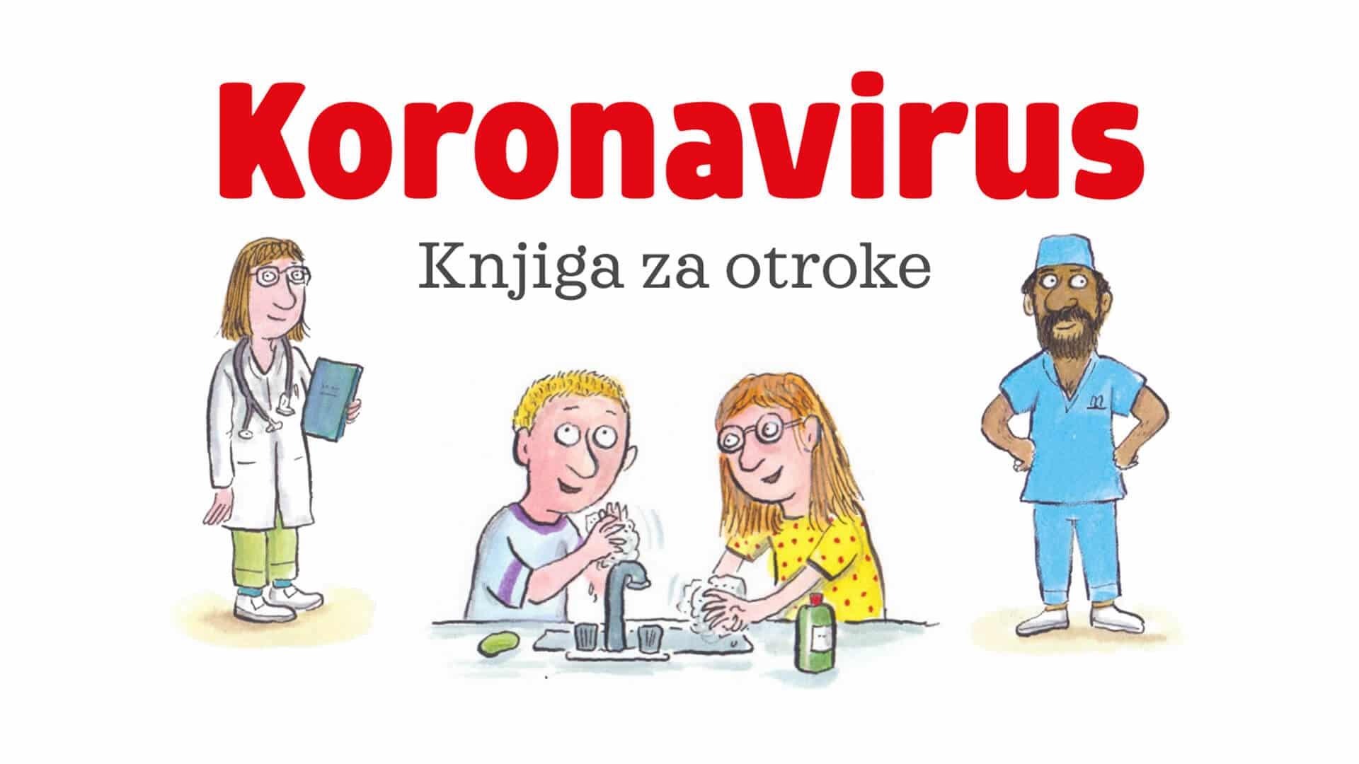 Koronavirus – knjiga za otroke – Založba Morfem